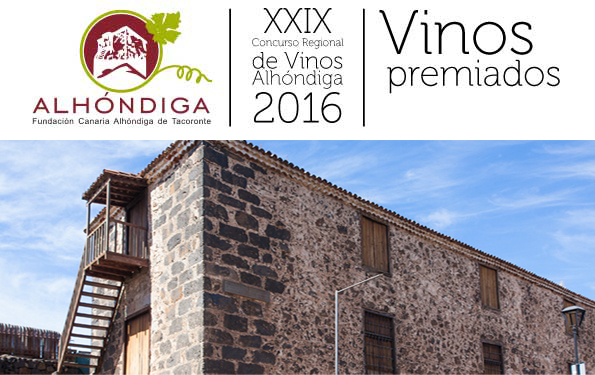 Silver Medal at the Regional Contest bottled wines of Canary Alhóndiga 2016