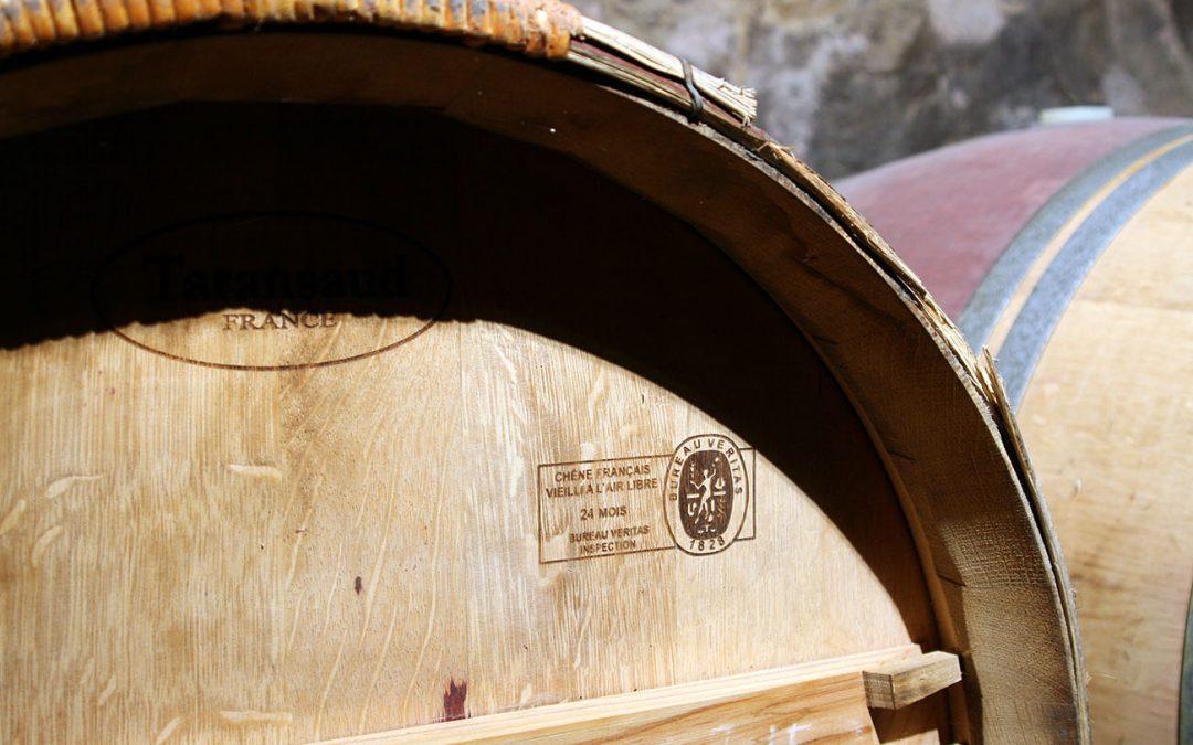Las barricas de Bodegas El Sitio de San Juan, garantizadas con el sello de máxima calidad