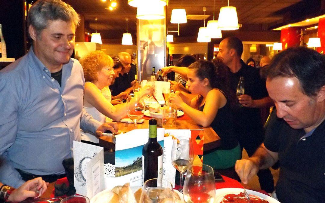Nuestros vinos elogiados en la degustación de 'Depatanegra'