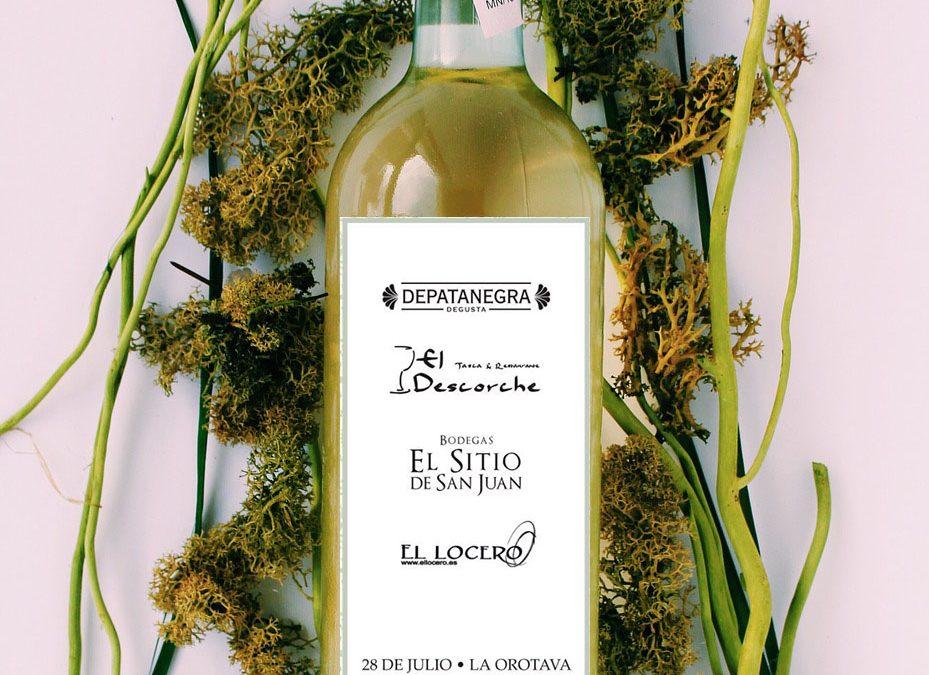 Descorche y desgutación de nuestros vinos en 'DePatanegra'