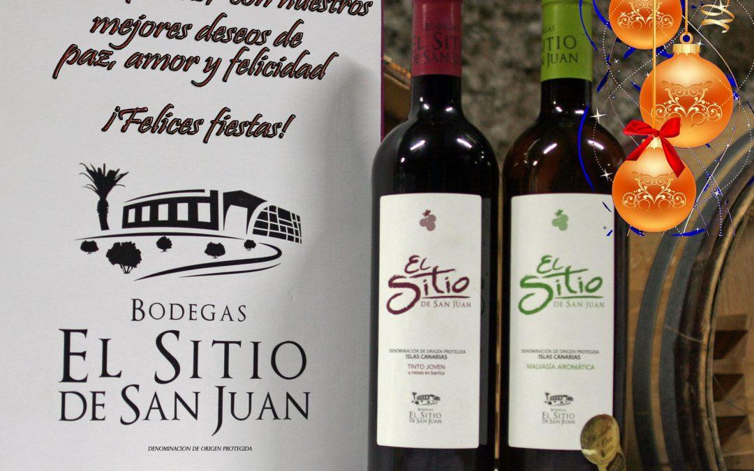 Bodegas El Sitio de San Juan les desea unas ¡Felices Fiestas!