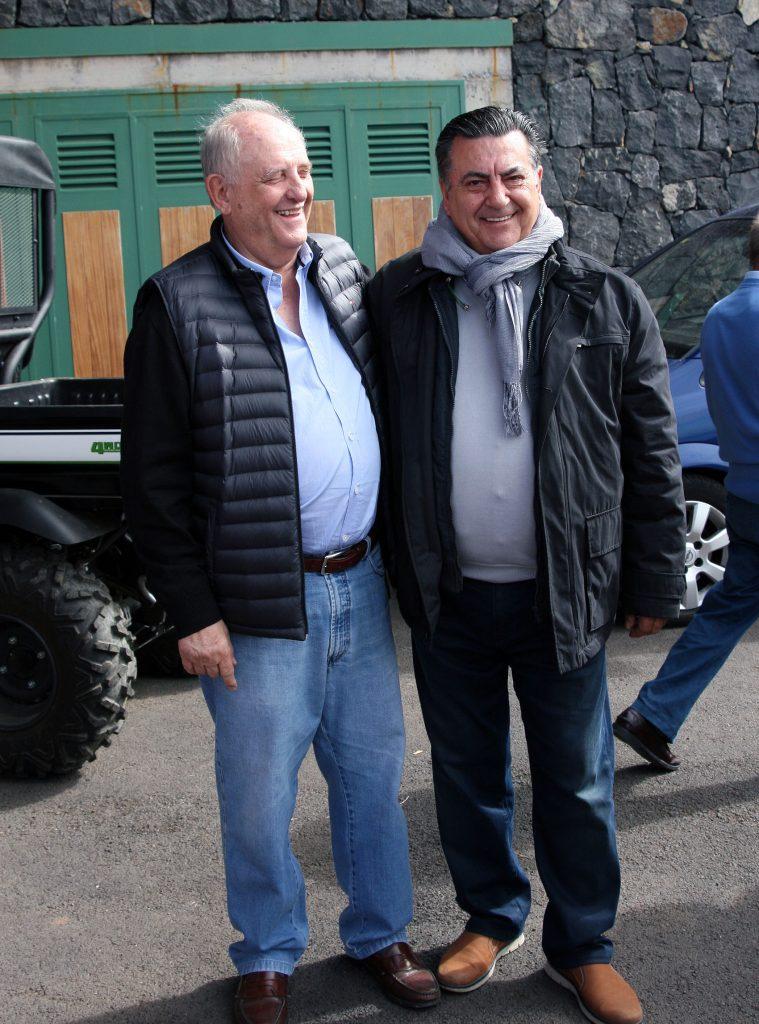 Francisco Yanes (El Sitio) y José Ramón Bustillo (As Barman Tfe) b