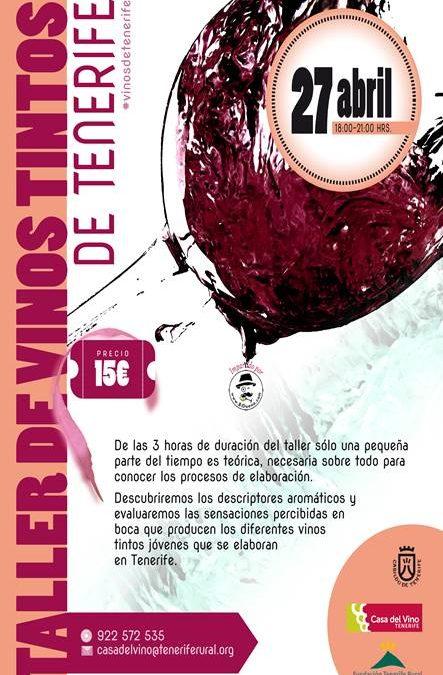 Taller de Vinos Tinto de Tenerife