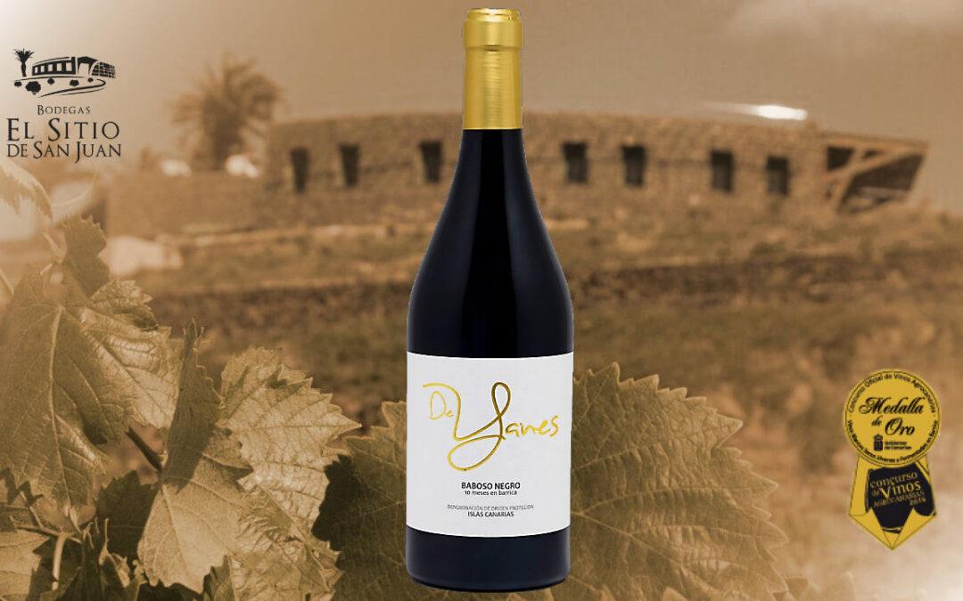 Yanes Tinto Baboso negro, Gran Medalla de Oro en el Concurso Oficial de Vinos de Canarias, Agrocanarias 2019