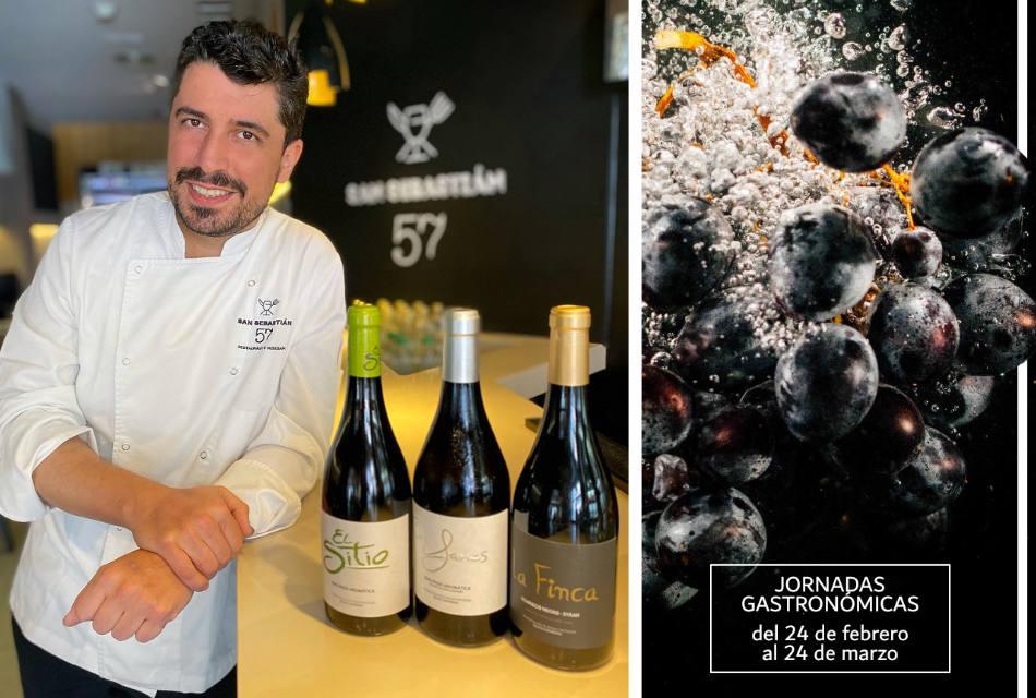 San Sebastián 57 dimaniza la gastronomía de Santa Cruz con unas jornadas con Incabe y Bodegas El Sitio