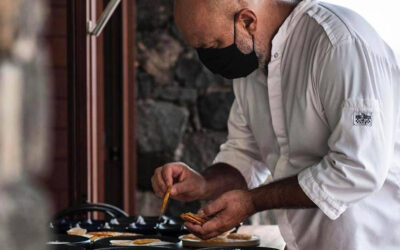 La esencia de la gastronomía canaria del Chef Marcos Tavio llega a Bodegas el Sitio